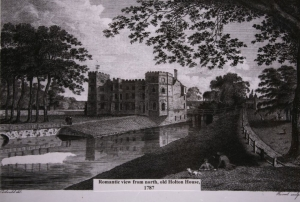 Print of Holton House 1787